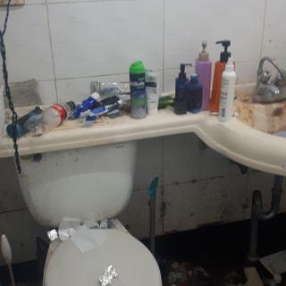 화장실청소